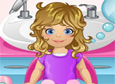 Игра Малышка Эмма уход за волосами