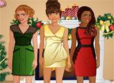 Игра Студия лучших друзей - Рождественская вечерика