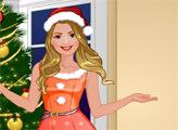 Игра Студия моды - Рождественский наряд