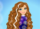 Игра Причёска Анны