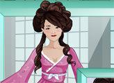 Игра Студия макияжа - гейша