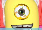 Игра У Миньона болят глаза