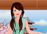 Игра Студия моды - платье кимоно