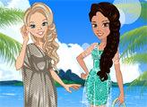 Игра Зои и Лили: весенний отдых