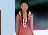 Игра Студия макияжа - девушка-эскимоска