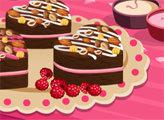 Игра Страсть к десертам: брауни в форме сердечек с кремом