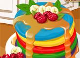 Игра Страсть к десертам: радужные пироги