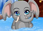 Игра Звездные питомцы: забавный слоненок
