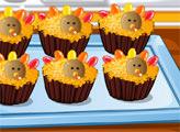 Игра Страсть к десертам: кексы на День Благодарения