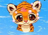 Игра Звездные питомцы: тигрёнок