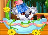 Игра Звездные питомцы: пушистая коала