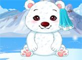 Игра Звездные питомцы: пушистый полярный медведь