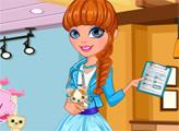 Игра Милая девушка-ветеринар