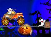 Игра Призрачные гонки на Хэллоуин