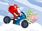 Игра Санта Клаус - байкер 2