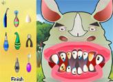 Игра Носорог у дантиста