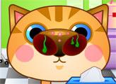 Игра У котика болит нос