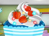 Игра Украшаем кекс