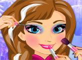 Игра Школьный макияж Анны