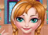 Игра Анна у парикмахера