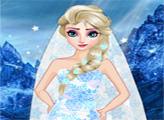 Игра Эльза - свадебный дизайн