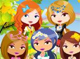 Игра Королевская мода - Принцесса гуляет в саду