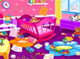 Игра Уборка в комнате малыша