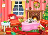 Игра Уборка на Рождество
