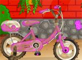 Игра Вымой велосипед