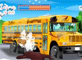 Игра Чистка школьного автобуса