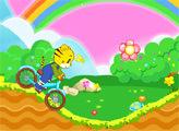 Игра Прогулка на велосипеде