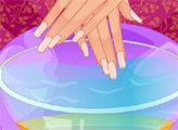 Игра Идеальные свадебные ногти