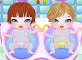 Игра Новорождённые близнецы