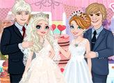 Игра Холодное сердце: Свадебная вечеринка