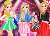 Игра Принцессы блондинки и ночная вечеринка