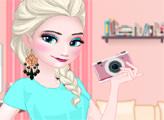 Игра Эльза модной блогер