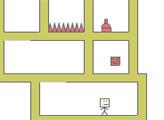 Игра Квадратный человек