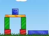 Игра Синий кубик