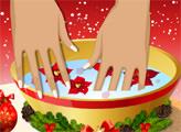 Игра Маникюрный Салон - Праздничный стиль