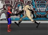 Игра Человек паук против Чужих