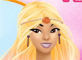 Игра Изысканный макияж русалки