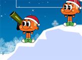 Игра Гамбол: зимняя битва