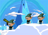 Игра Время приключений: снежная битва