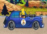 Игра Барт догоняет бандитов