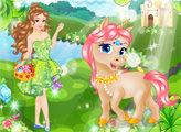 Игра Принцесса и ее волшебный Единорог
