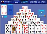 Игра Pyramid Solitaire