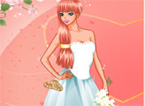 Игра Красивая невеста наряжается