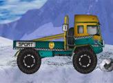 Игра Зимний дрифт на грузовике