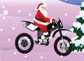 Игра Санта Клаус - байкер 3