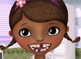 Игра Доктор Плюшева у дантиста